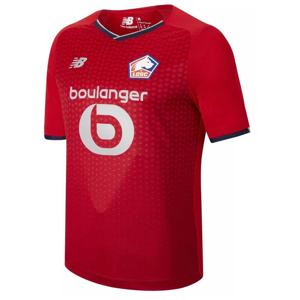 New Balance T-shirt Manche Courte Losc Lille 21/22 Domicile Junior L Hme