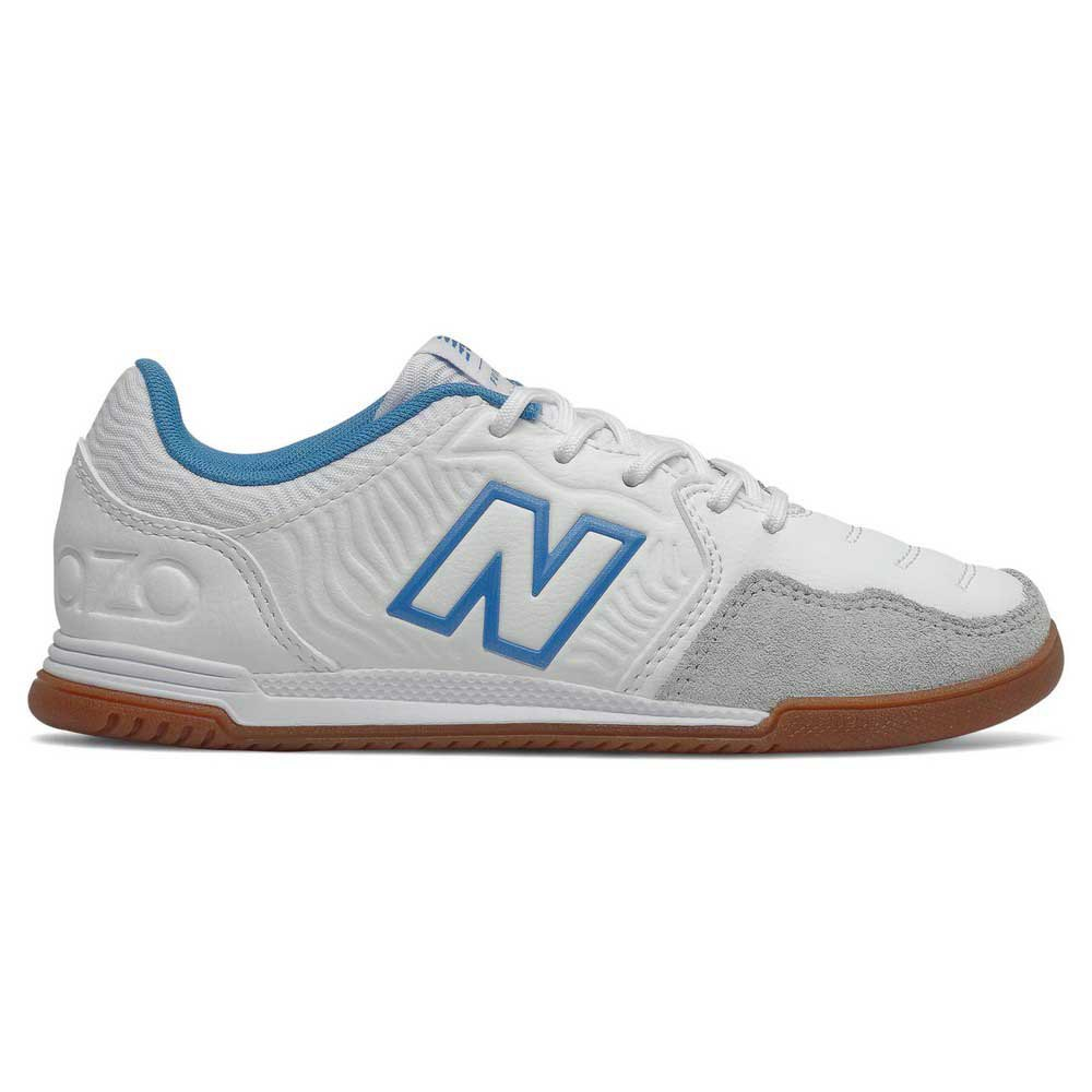 New Balance Chaussures Football Salle Audazo V5+ Command In Large EU 33 White