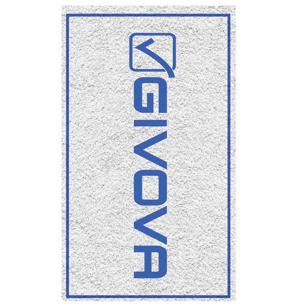 Givova Serviette Mare Double Face 170 x 80 cm White / Light Blue