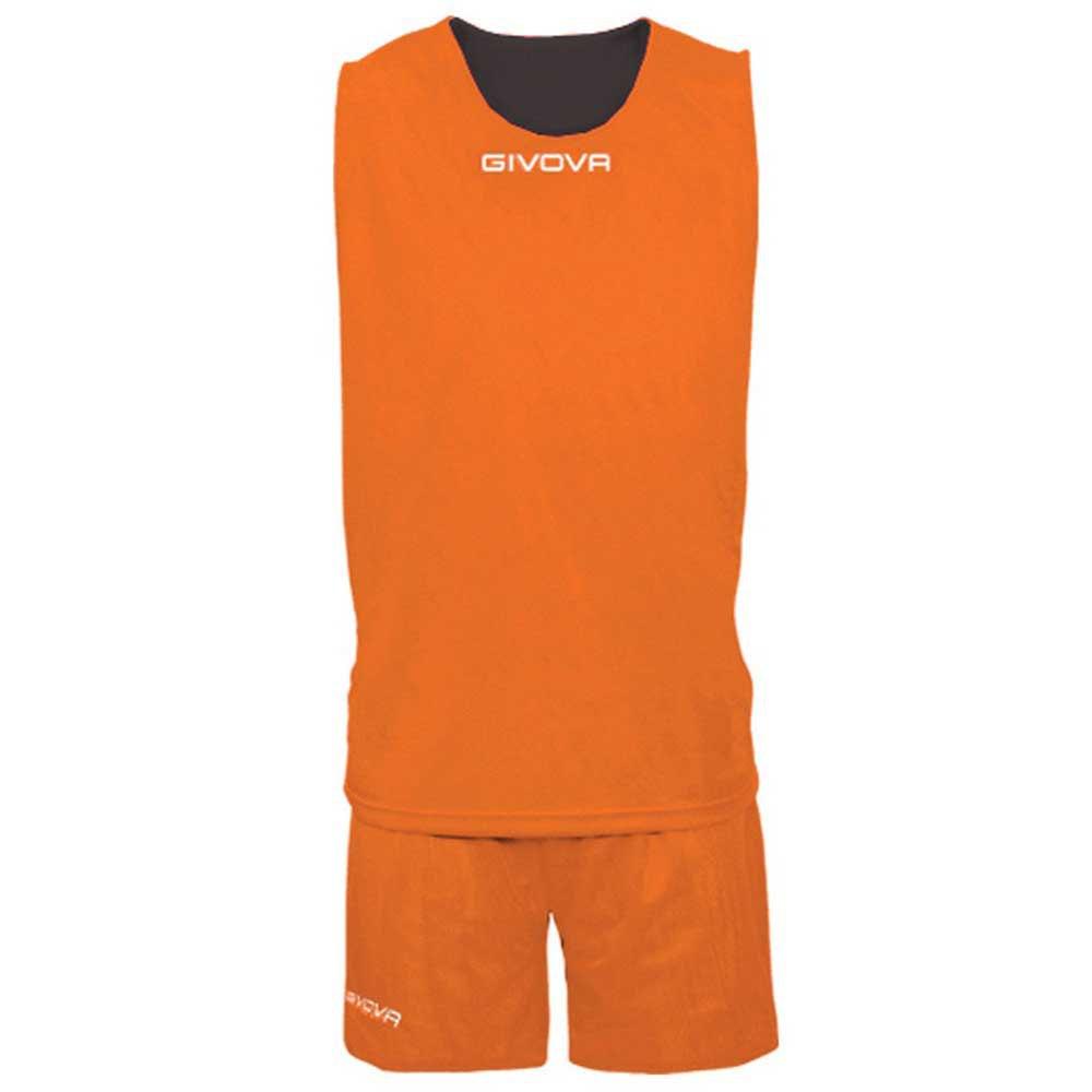 Givova Set Double 4 Years Orange / Black