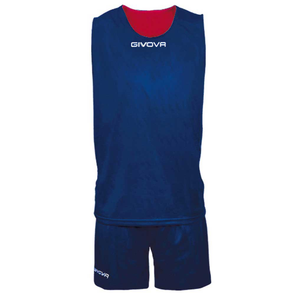 Givova Set Double S Blue / Red
