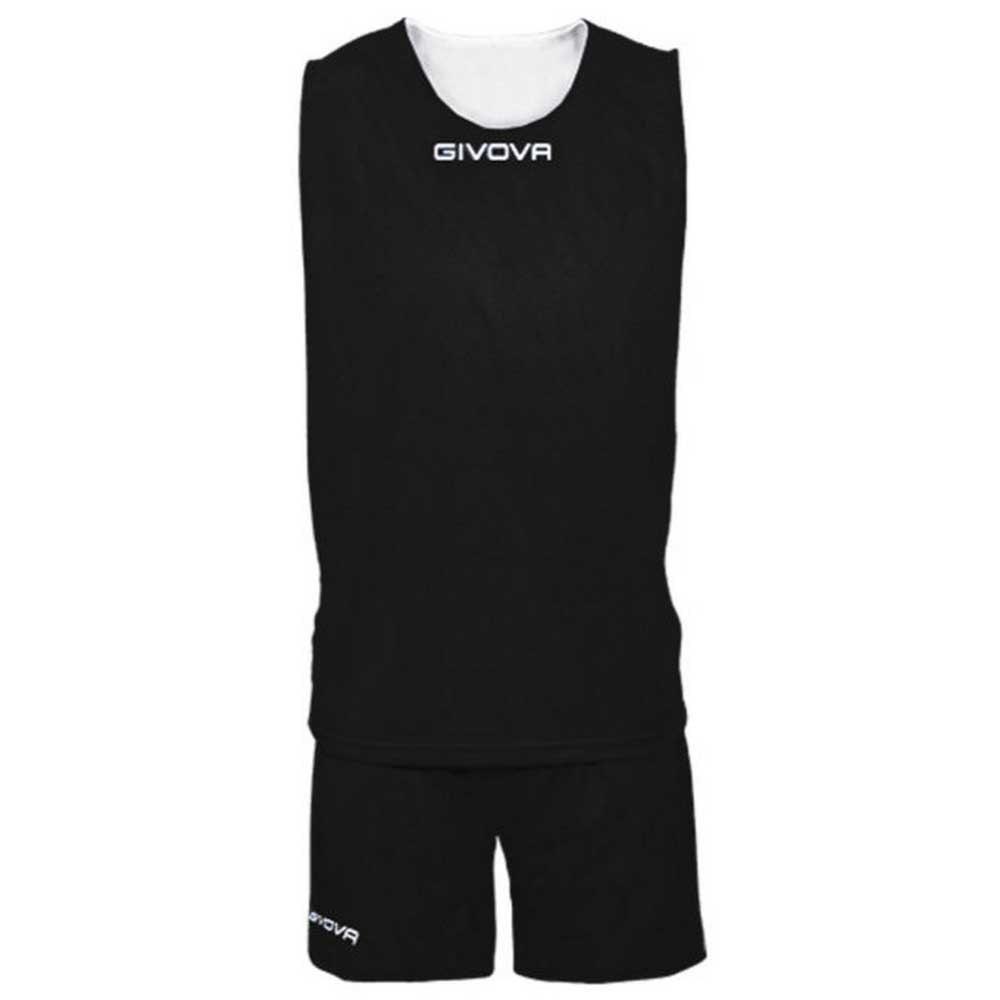 Givova Set Double S Black / White