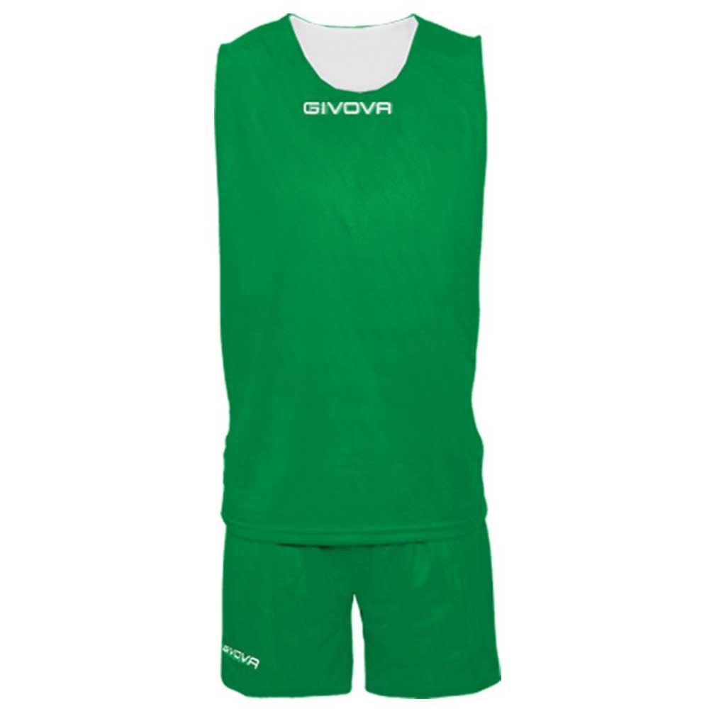 Givova Set Double S Green / White