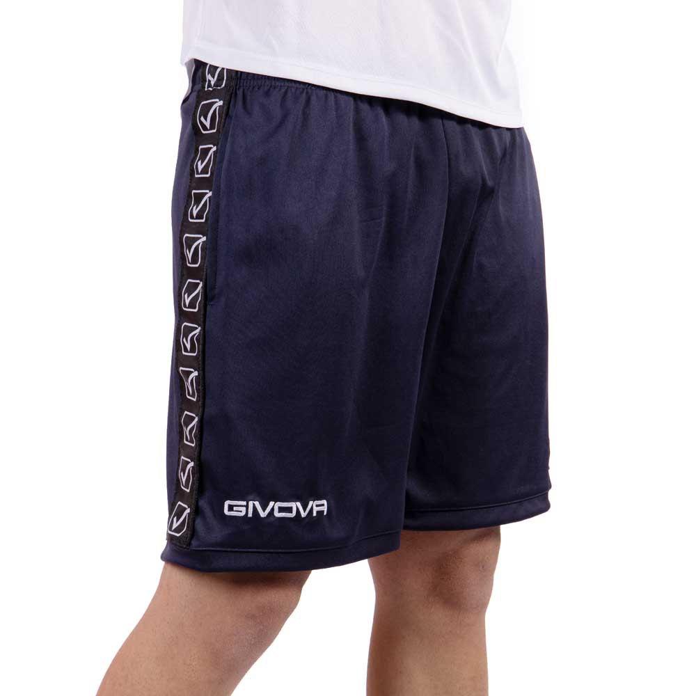 Givova Pantalons Courts Poly Band S Blue