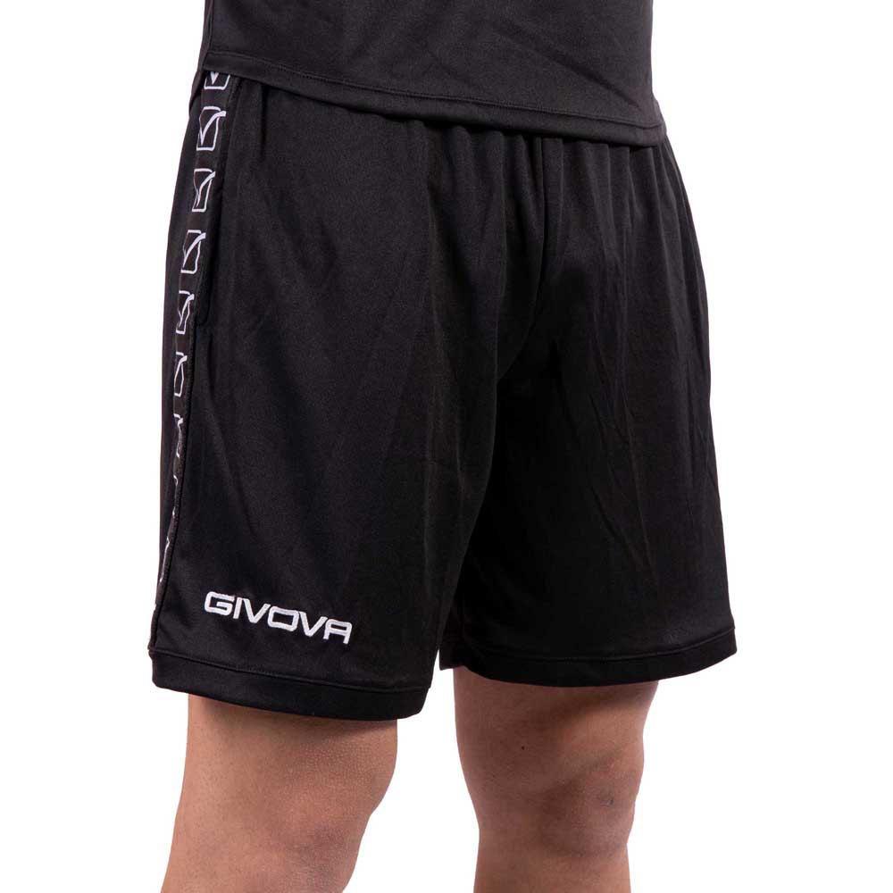 Givova Pantalons Courts Poly Band S Black