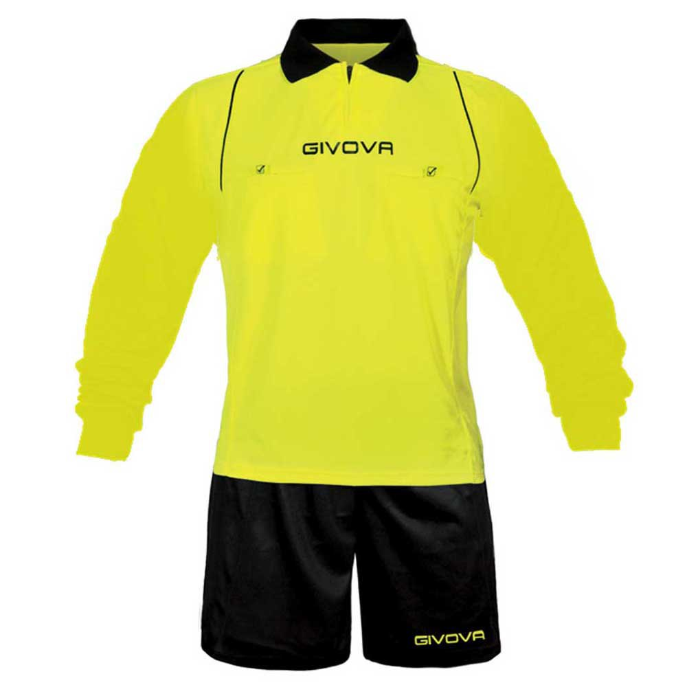 Givova Set Arbitro S Fluor Yellow / Black