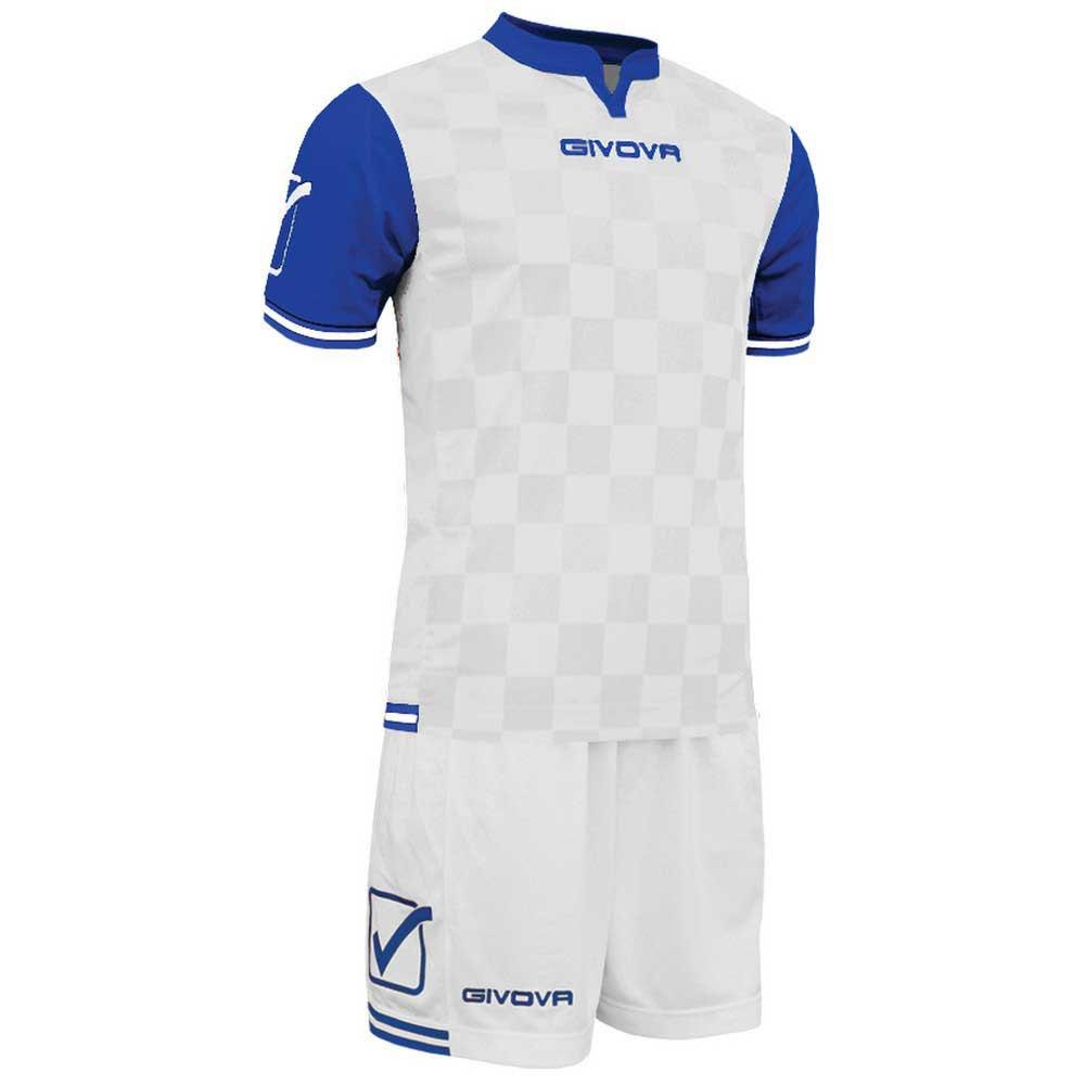 Givova Set Competition M White / Light Blue