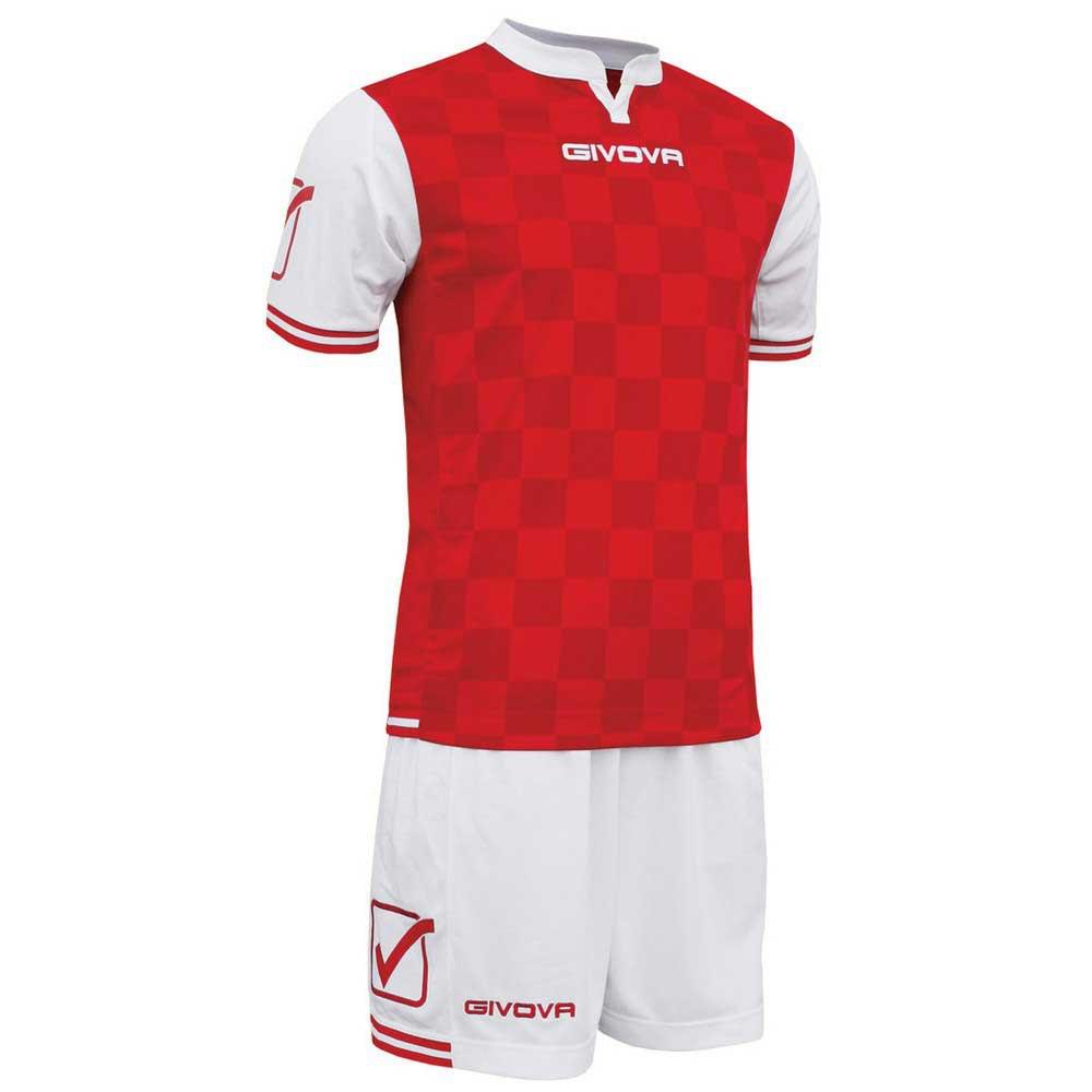 Givova Set Competition M White / Red