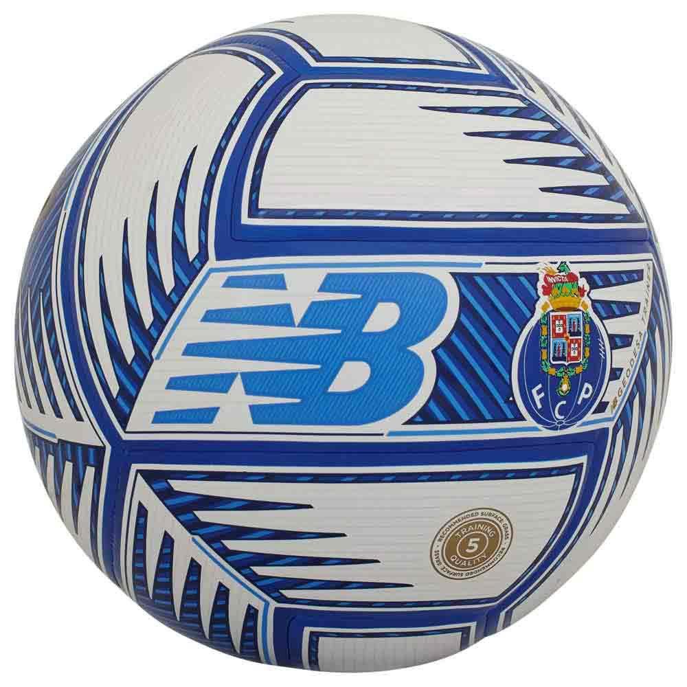 New Balance Ballon Football Fc Porto Training 5 White / Blue
