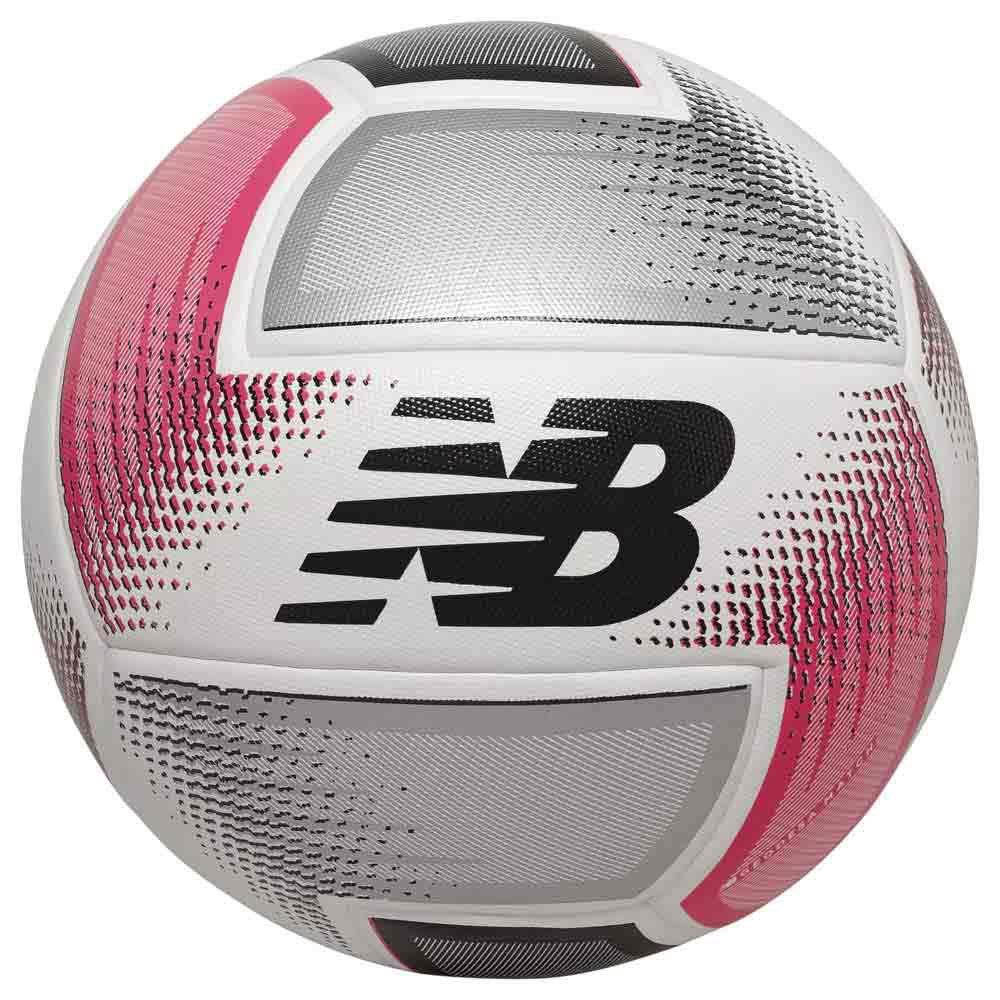 New Balance Ballon Football Geodesa Match 5 Silver / White