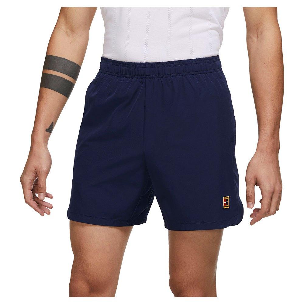 Nike Les Shorts Court Dri Fit Slam L Binary Blue / Binary Blue / Binary Blue