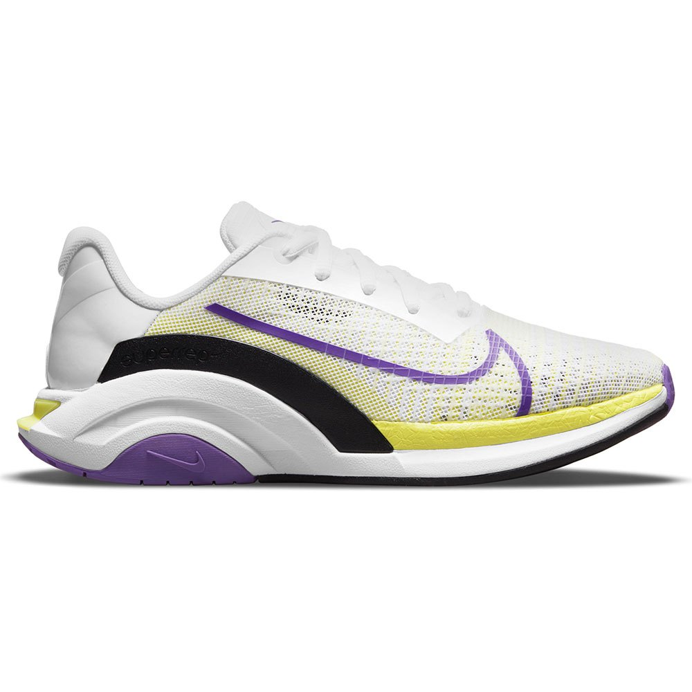 Nike Chaussures Zoomx Superrep Surge Endurance EU 41 White / Wild Berry / Black / LT Lemon Twist