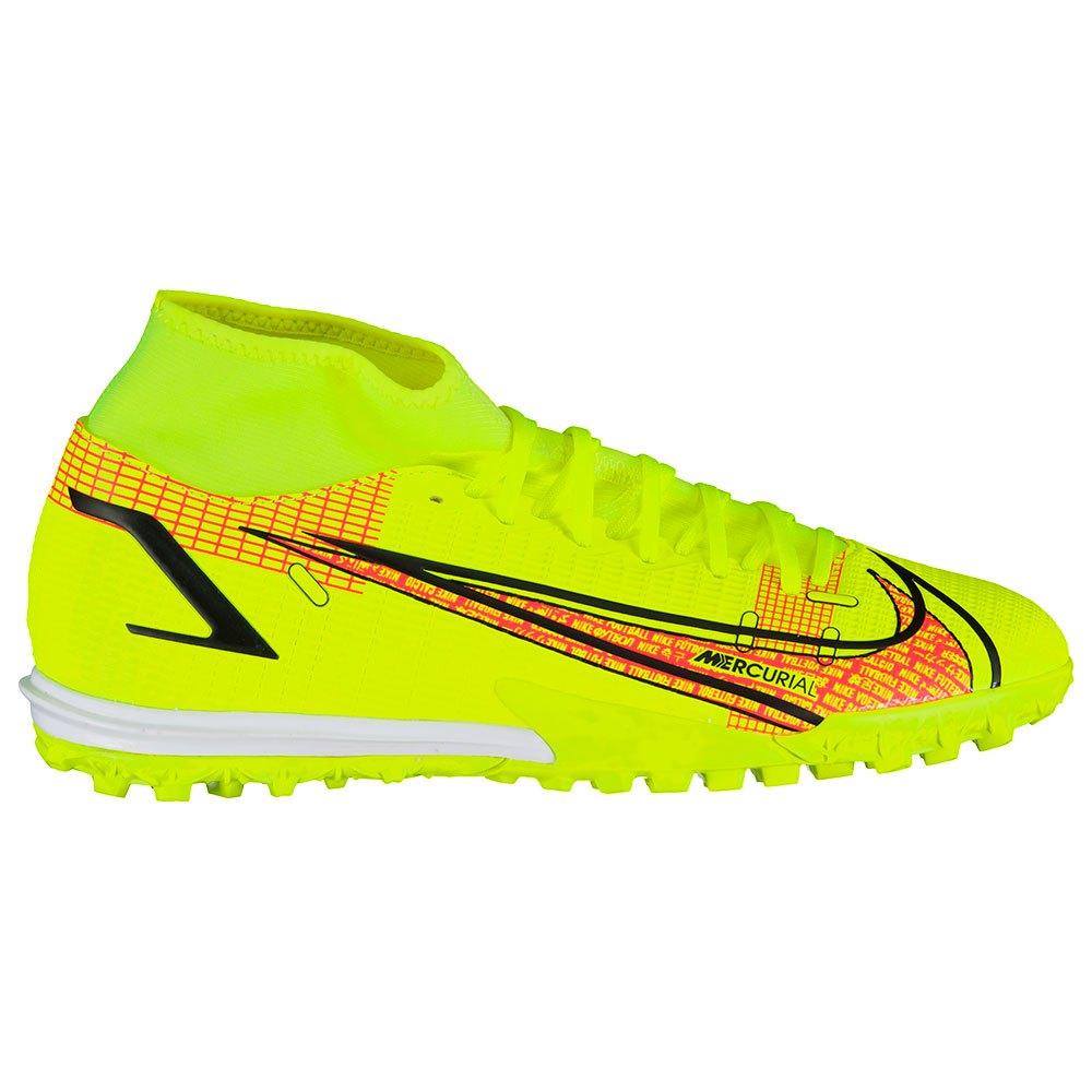 Nike Chaussures Football Mercurial Superfly Viii Academy Tf EU 43 Volt / Black / Bright Crimson