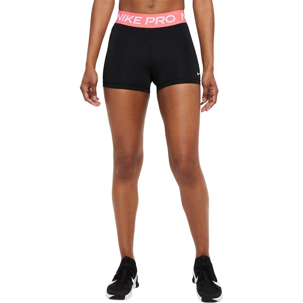 Nike Les Shorts Pro 3´´ S Black / Magic Ember / White
