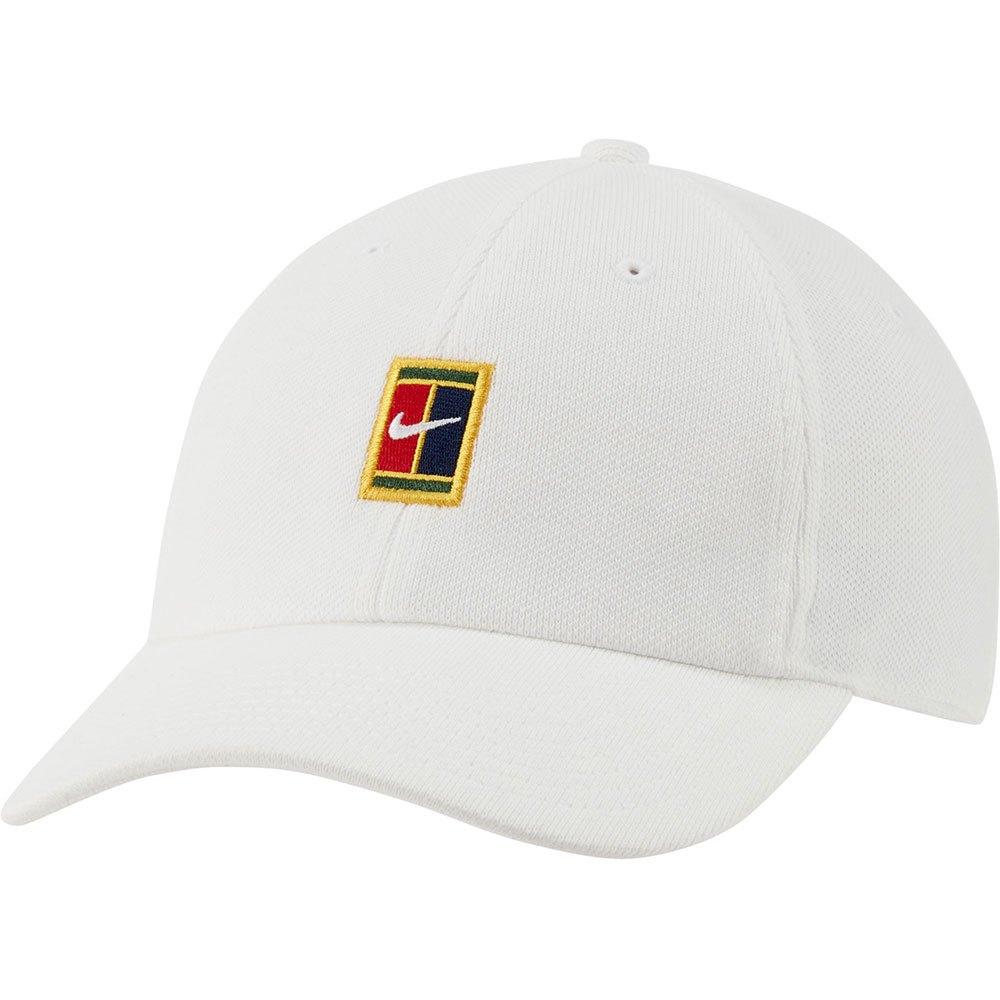 Nike Casquette Court Heritage 86 Logo One Size White / White