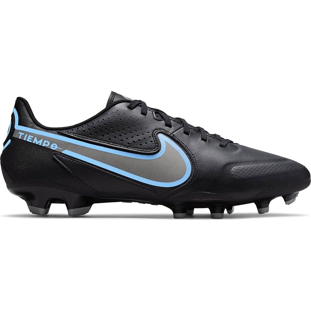 Nike Chaussures Football Tiempo Legend Ix Academy Fg/mg EU 43 Black / Black / Iron Grey