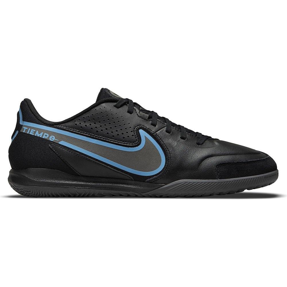 Nike Chaussures Football Salle Tiempo Legend Ix Academy Ic EU 45 Black / Black / Iron Grey