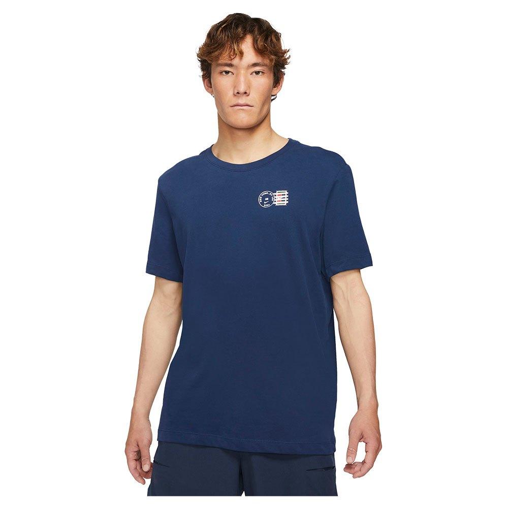 Nike T-shirt Manche Courte Court Dri Fit Rafa Seasonal S Obsidian / White