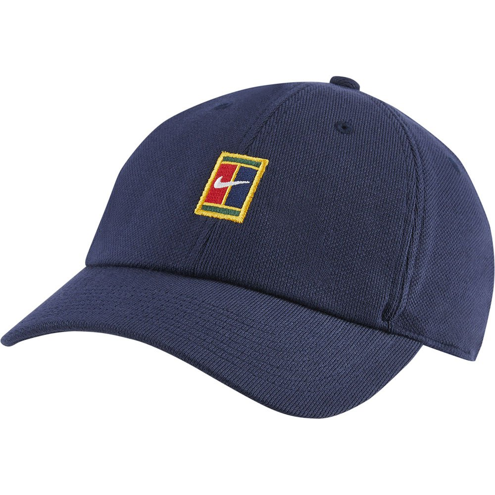 Nike Casquette Court Heritage 86 Logo One Size Obsidian