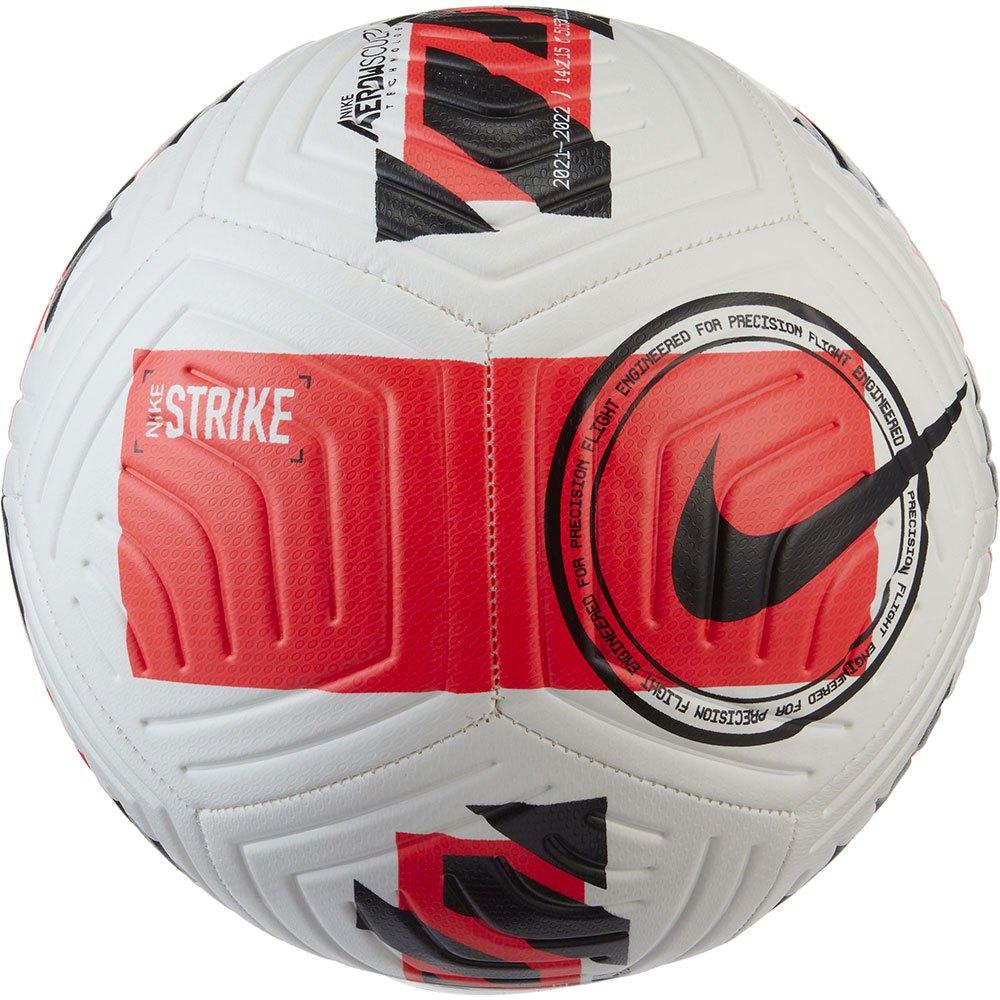 Nike Ballon Football Strike 5 White / Bright Crimson / Black