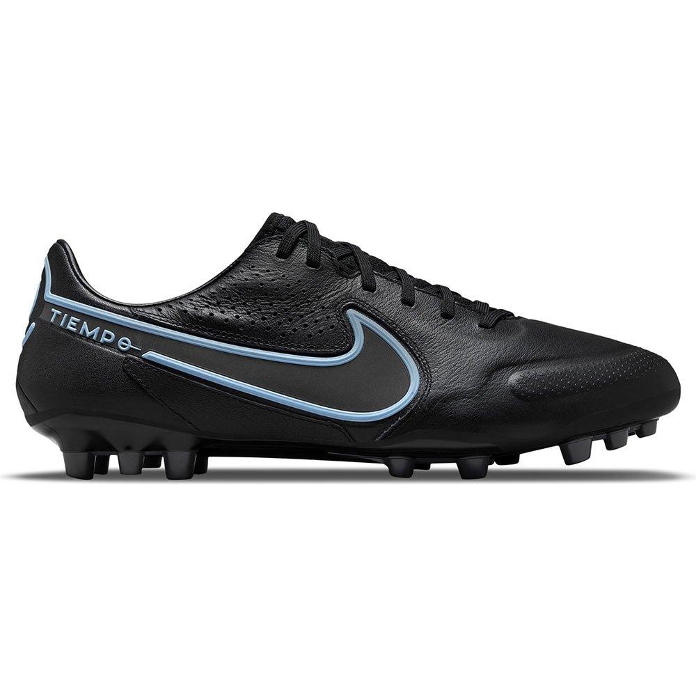Nike Chaussures Football Tiempo Legend Ix Pro Ag EU 43 Black / Black / Iron Grey