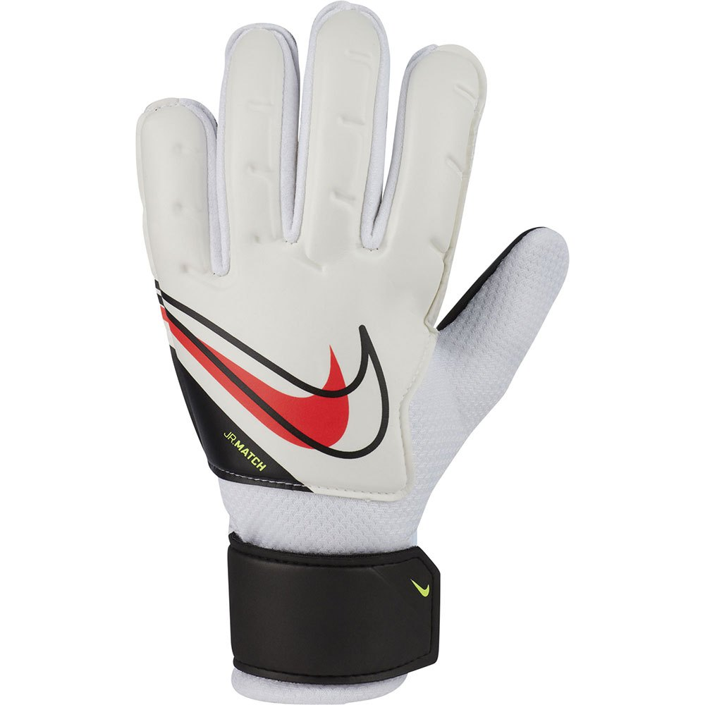 Nike Gants Gardien Match Junior 3 White / Black / Bright Crimson