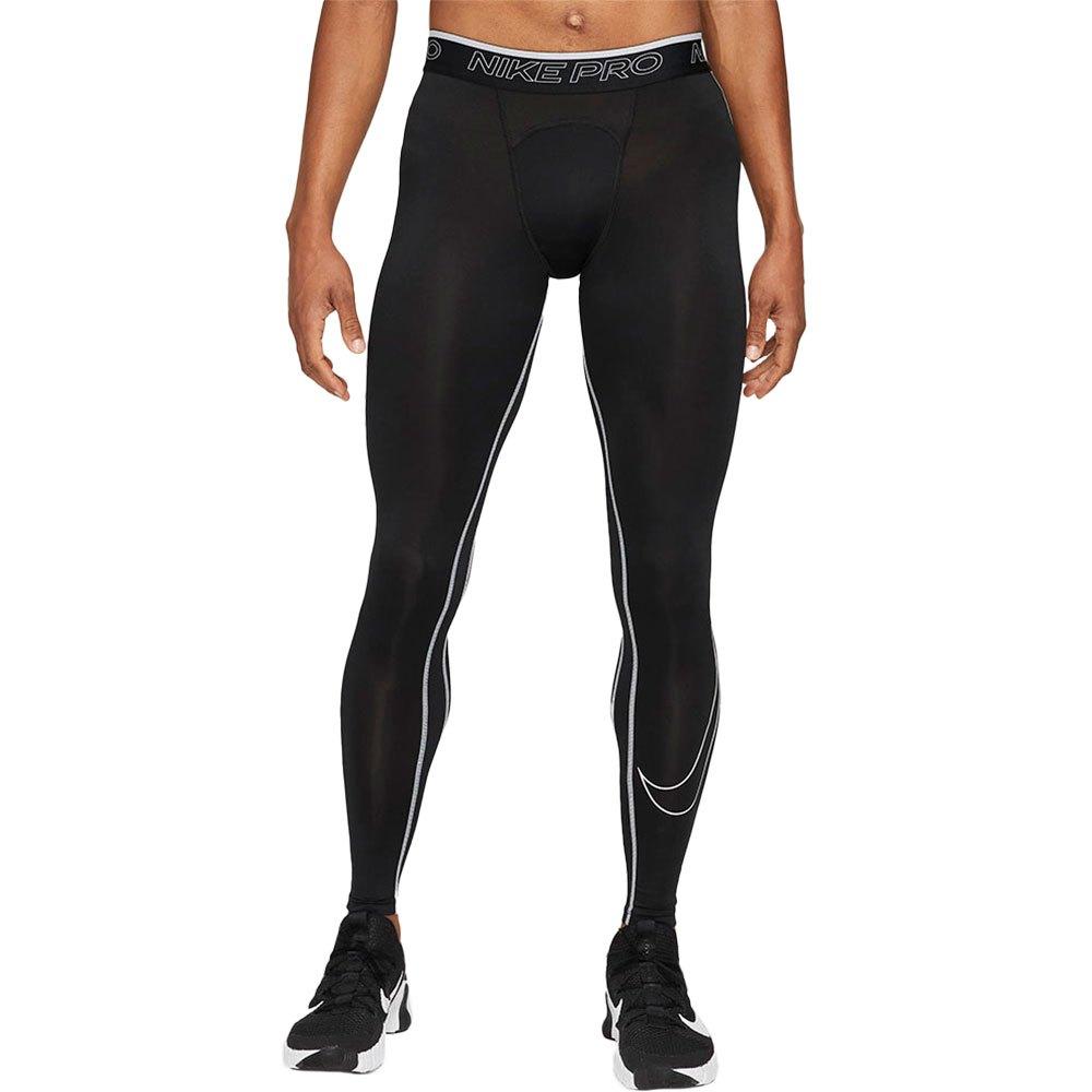 Nike Legging Pro Dri Fit L Black / White / White