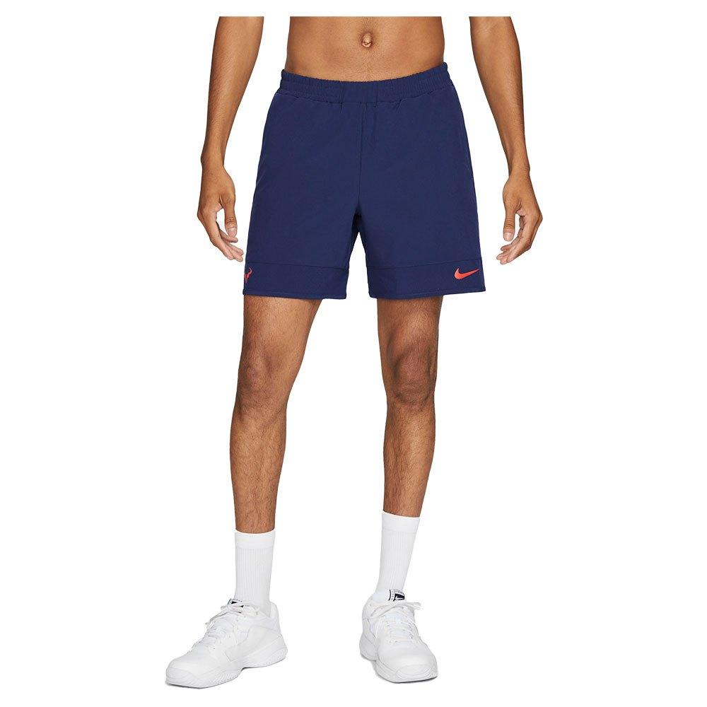Nike Les Shorts Court Dri Fit Advantage Rafa XL Binary Blue / Chile Red