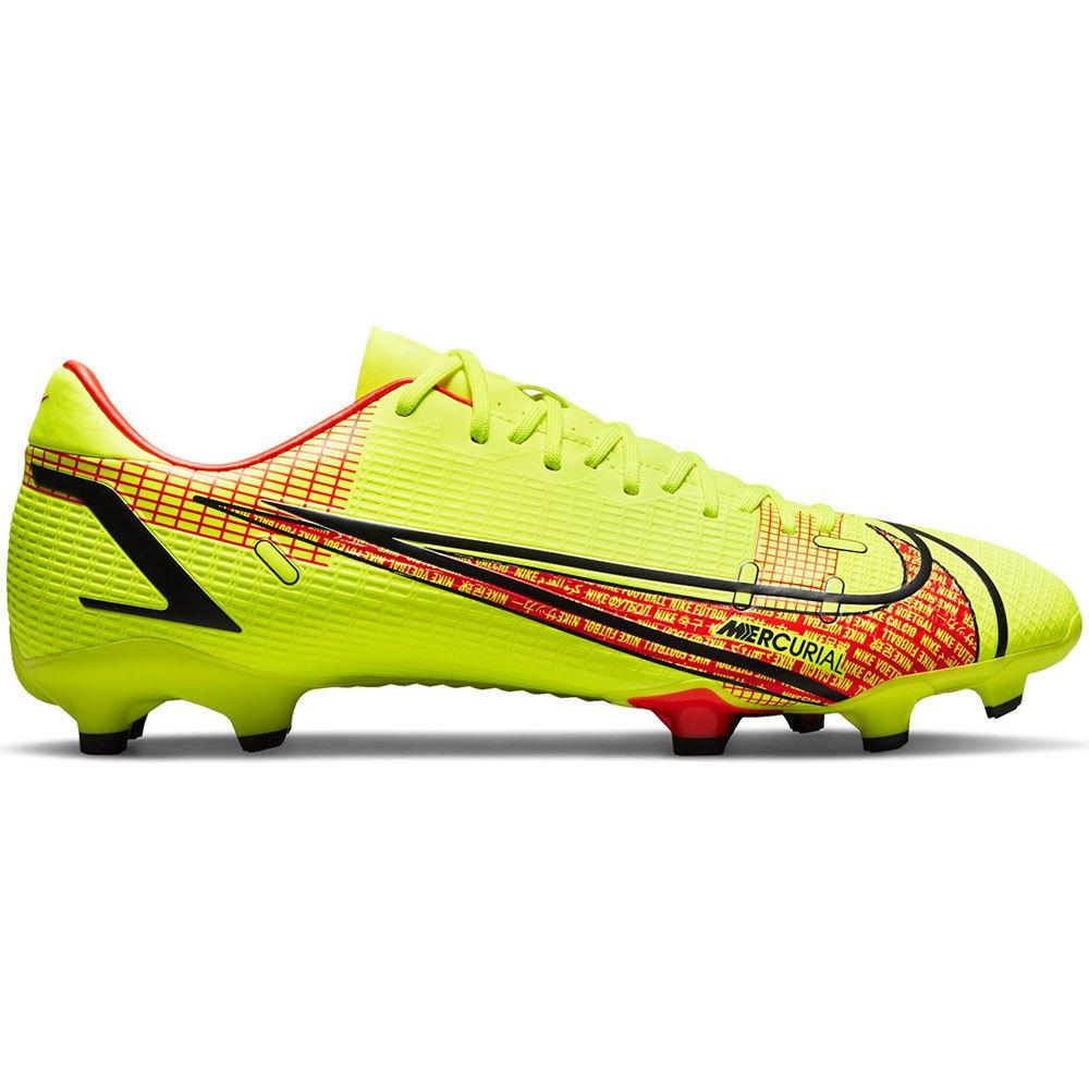 Nike Chaussures Football Mercurial Vapor Ix Academy Fg/mg EU 41 Volt / Bright Crimson