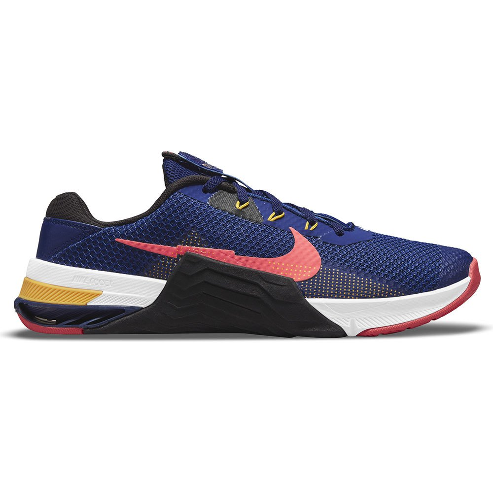Nike Chaussures Metcon 7 EU 43 Deep Royal Blue / Magic Ember / Black / White