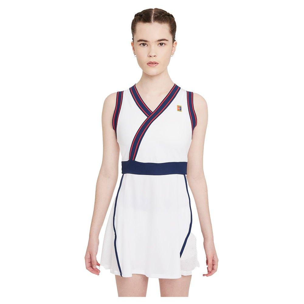 Nike Robe Court Dri Fit Slam S White / White / Binary Blue