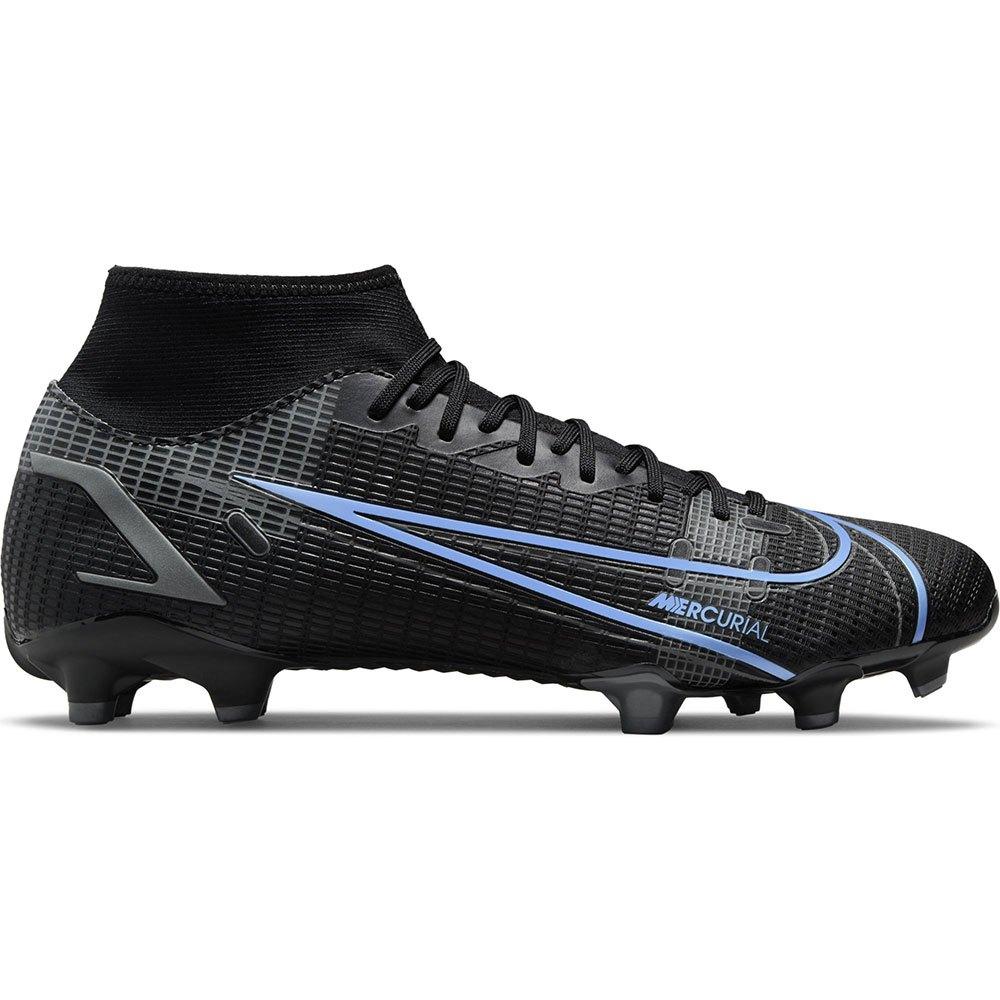 Nike Chaussures Football Mercurial Superfly Viii Academy Mg EU 45 Black / Black / Iron Grey