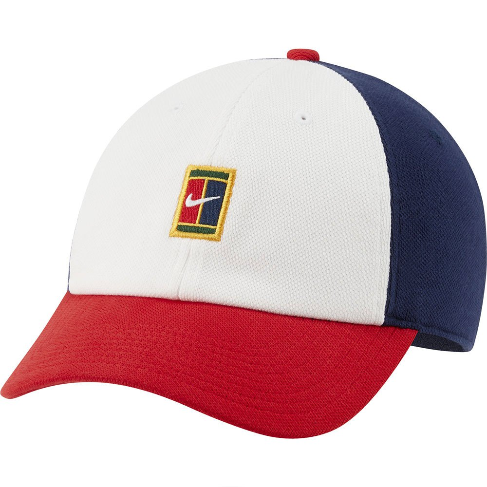 Nike Casquette Court Heritage 86 Logo One Size White / Binary Blue