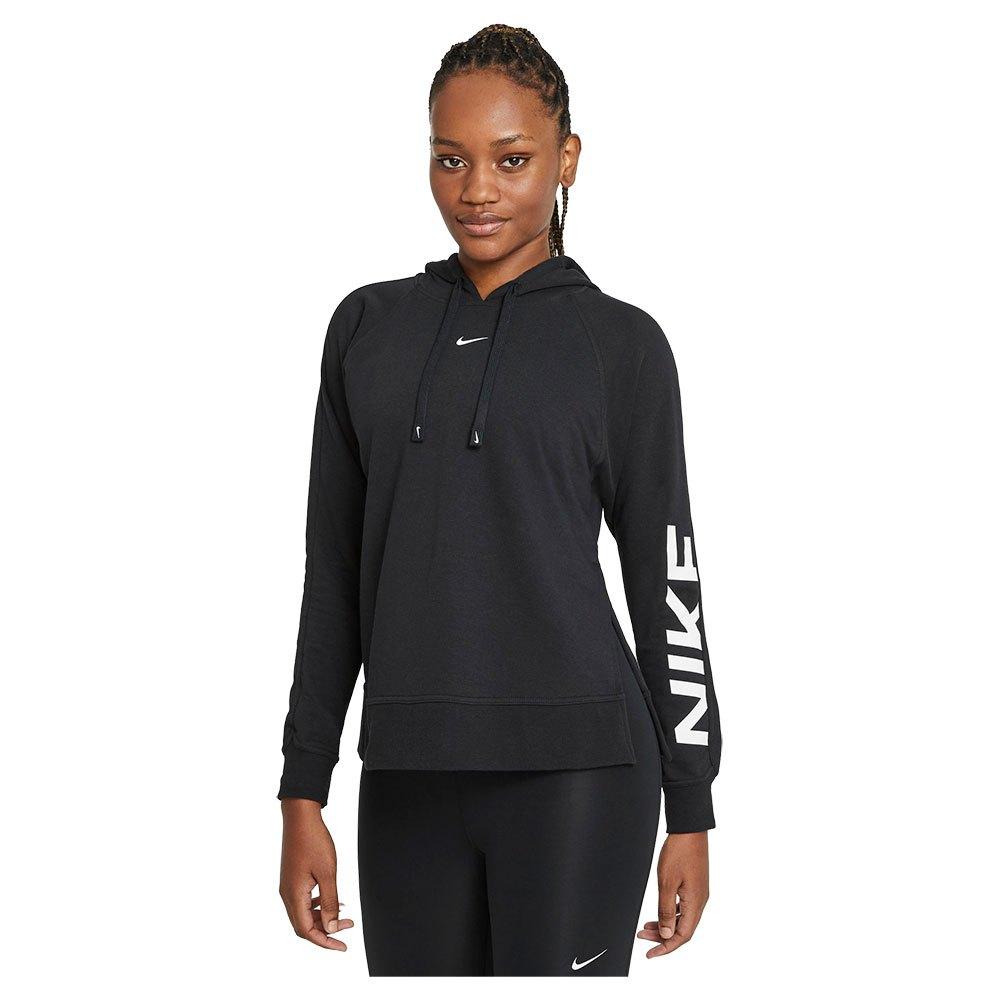 Nike Sweatshirt Dri Fit Get Fit Graphic XXL Black / White