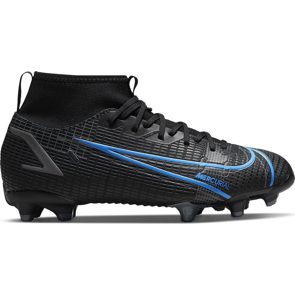 Nike Chaussures Football Mercurial Superfly Viii Academy Mg EU 37 1/2 Black / Black / Iron Grey