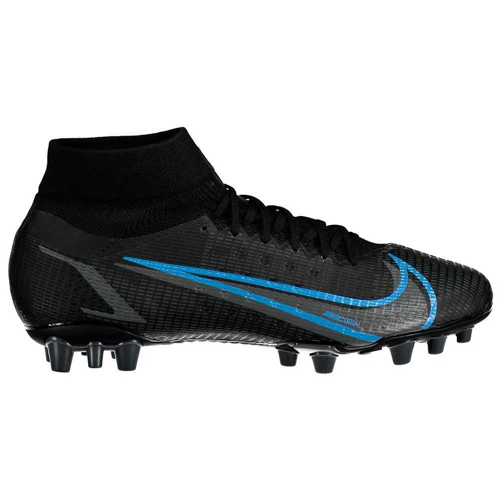 Nike Chaussures Football Mercurial Superfly Viii Pro Ag EU 45 1/2 Black / Black / Iron Grey