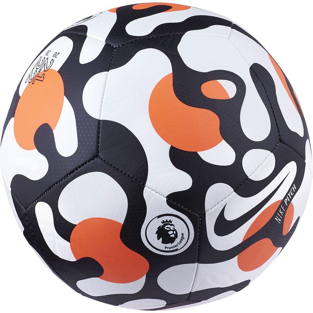 Nike Ballon Football Premier League Pitch 3 White / Hyper Crimson / Black
