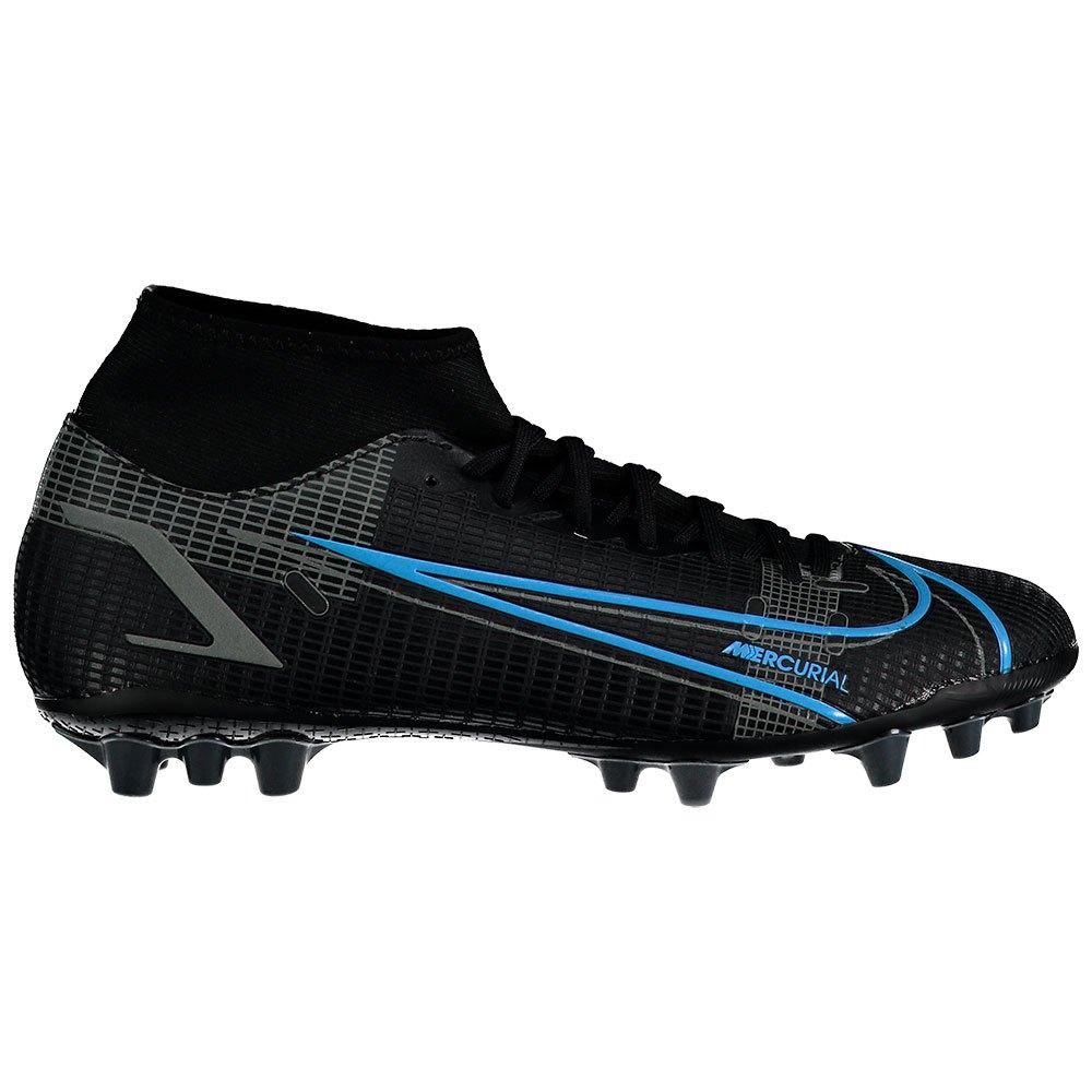 Nike Chaussures Football Mercurial Superfly Viii Academy Ag EU 45 Black / Black / Iron Grey