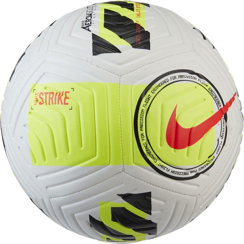 Nike Ballon Football Strike 5 White / Volt / Bright Crimson