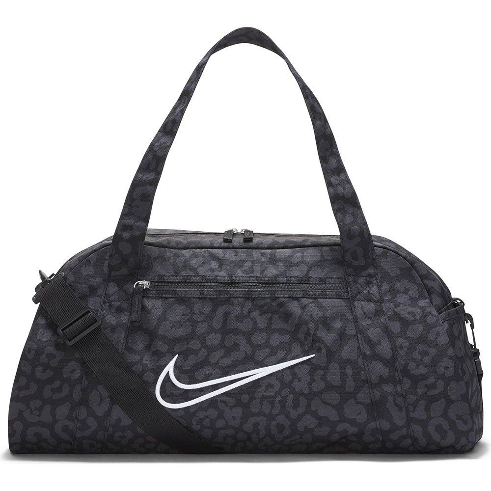 Nike Sac Gym Club Printed Duffel One Size Black / Dk Smoke Grey / White