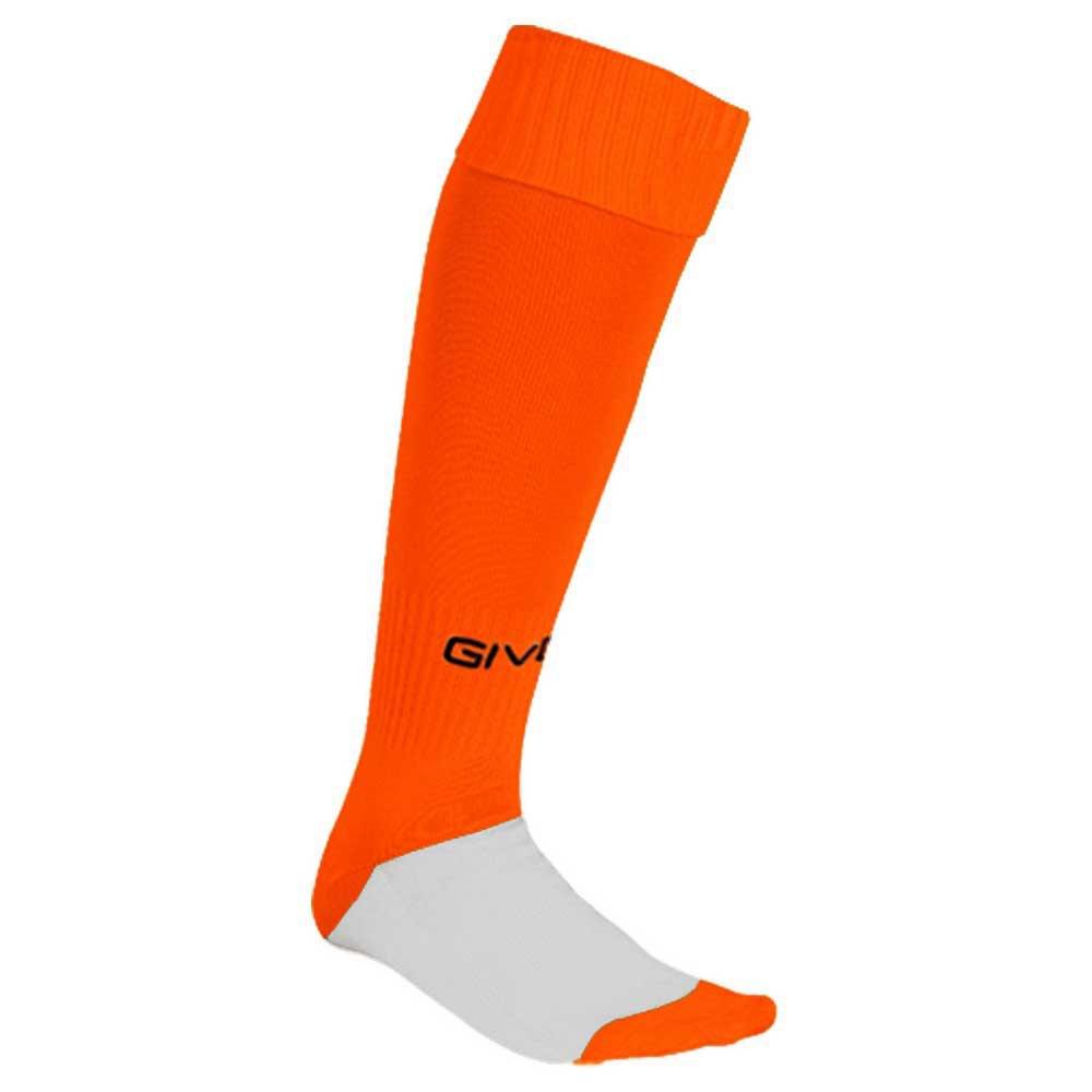 Givova Chaussettes Longue Match Adulte One Size Fluor Orange