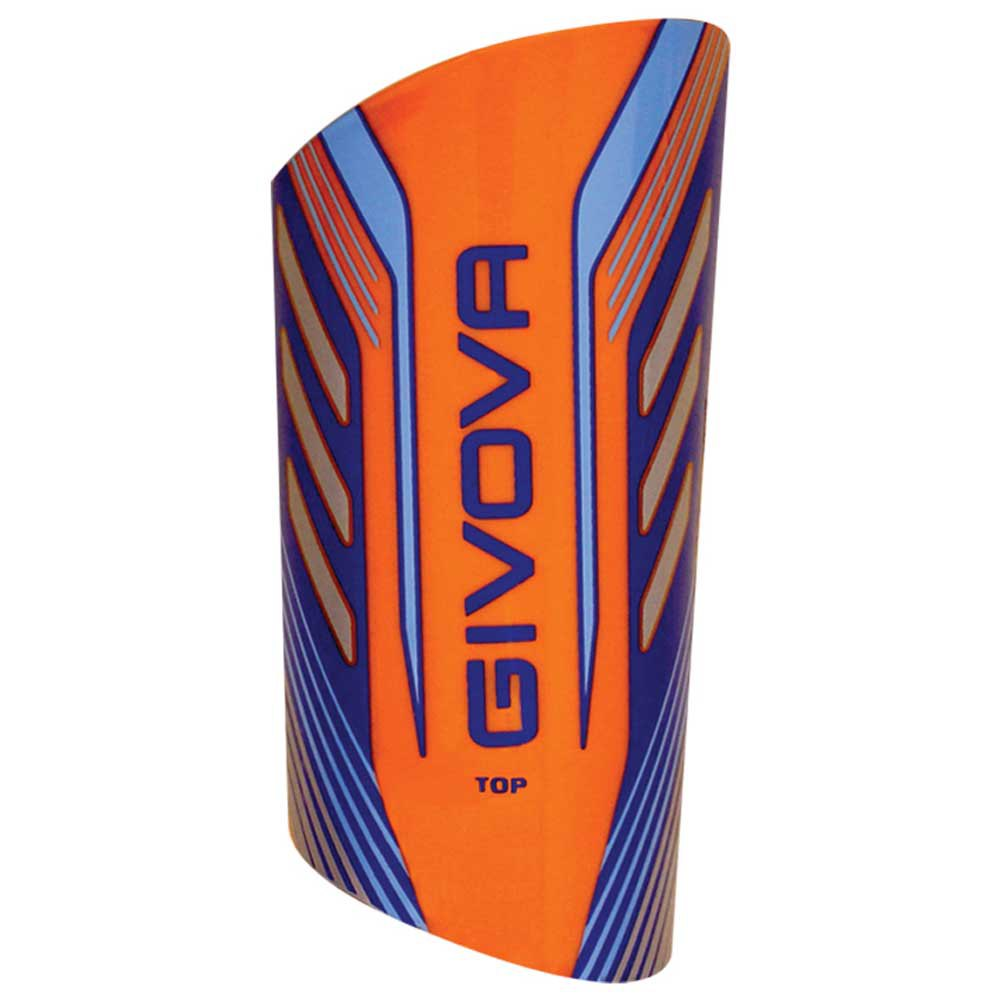 Givova Protège-tibias De Football Pour Top Enfant One Size Orange / Blue