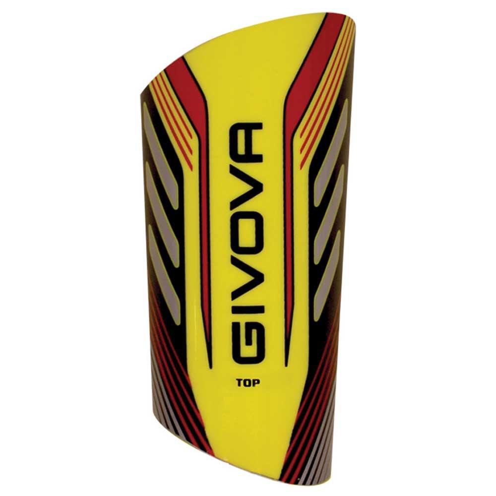 Givova Protège-tibias De Football Top Adulte One Size Yellow / Black
