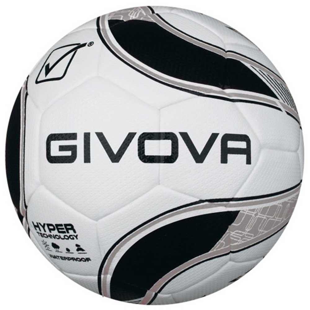 Givova Ballon Football Hyper 4 Black / Silver