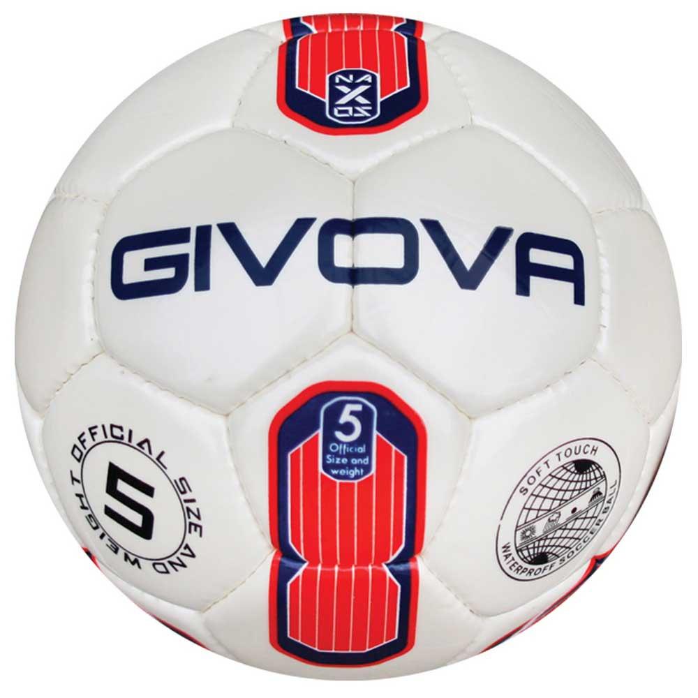 Givova Ballon Football Naxos 4 Red / Blue