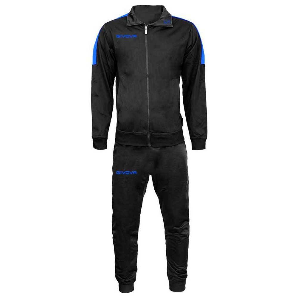 Givova Survêtement Revolution S Black / Light Blue