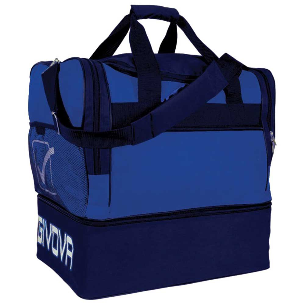 Givova Sac 10 Football Duffle 87l One Size Light Blue/ Blue