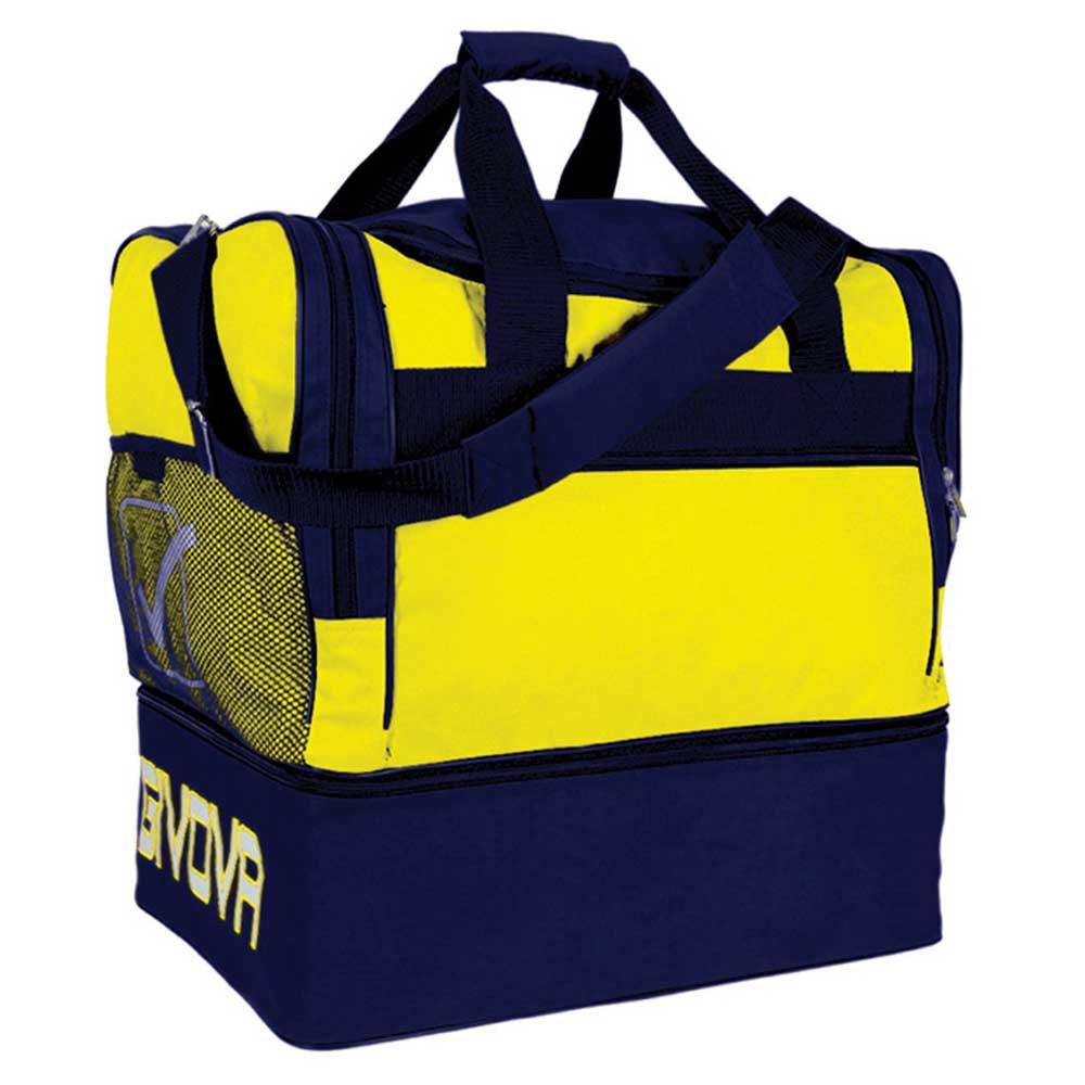 Givova Sac 10 Football Duffle 87l One Size Yellow / Blue