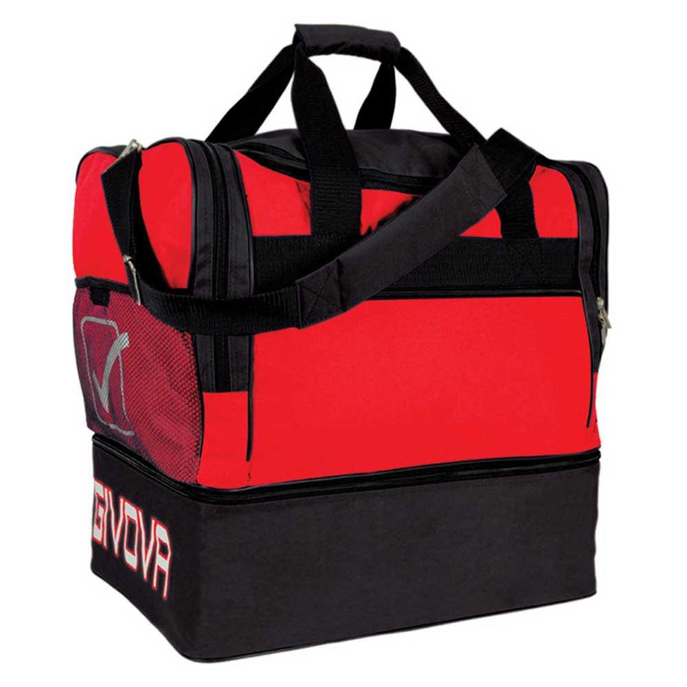 Givova Sac 10 Football Duffle 87l One Size Red / Black