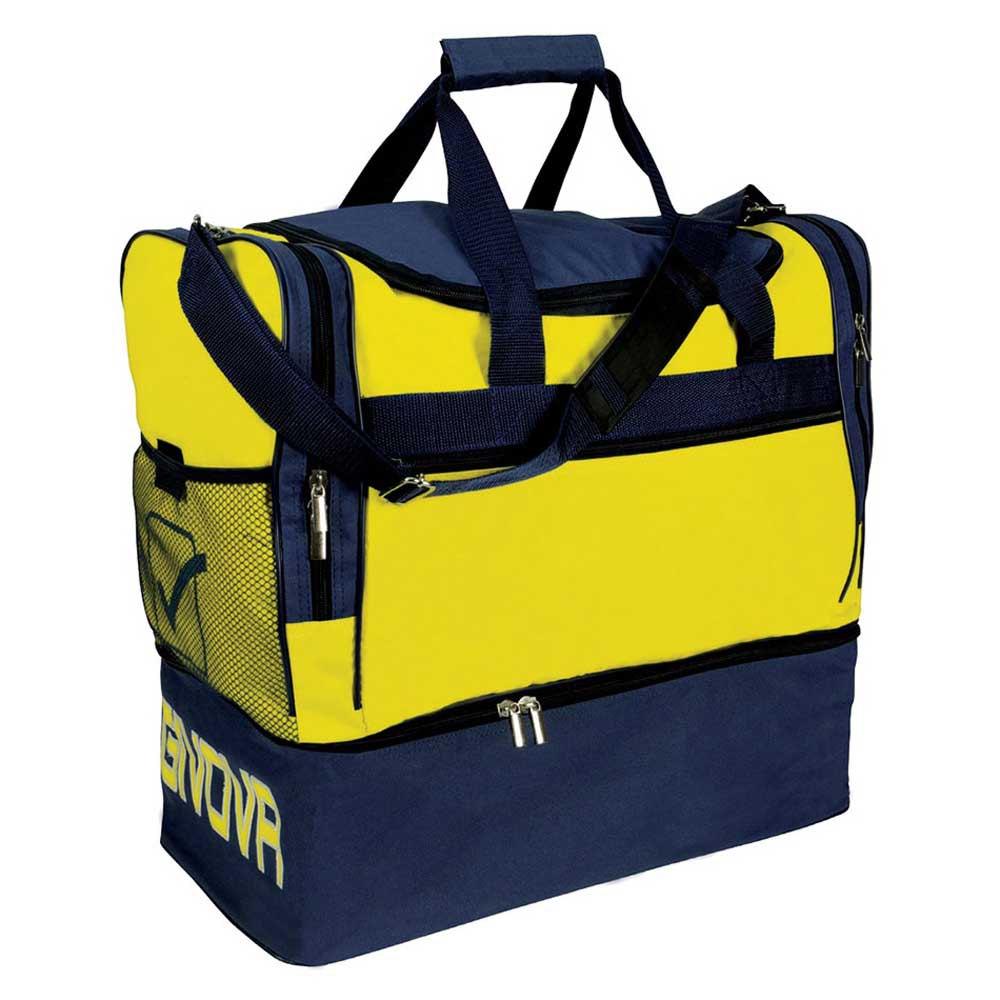 Givova Sac 10 Football Duffle 63l One Size Yellow / Blue